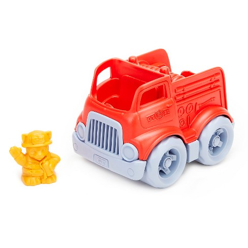 Green Toys Mini Fire Engine with Character - image 1 of 2