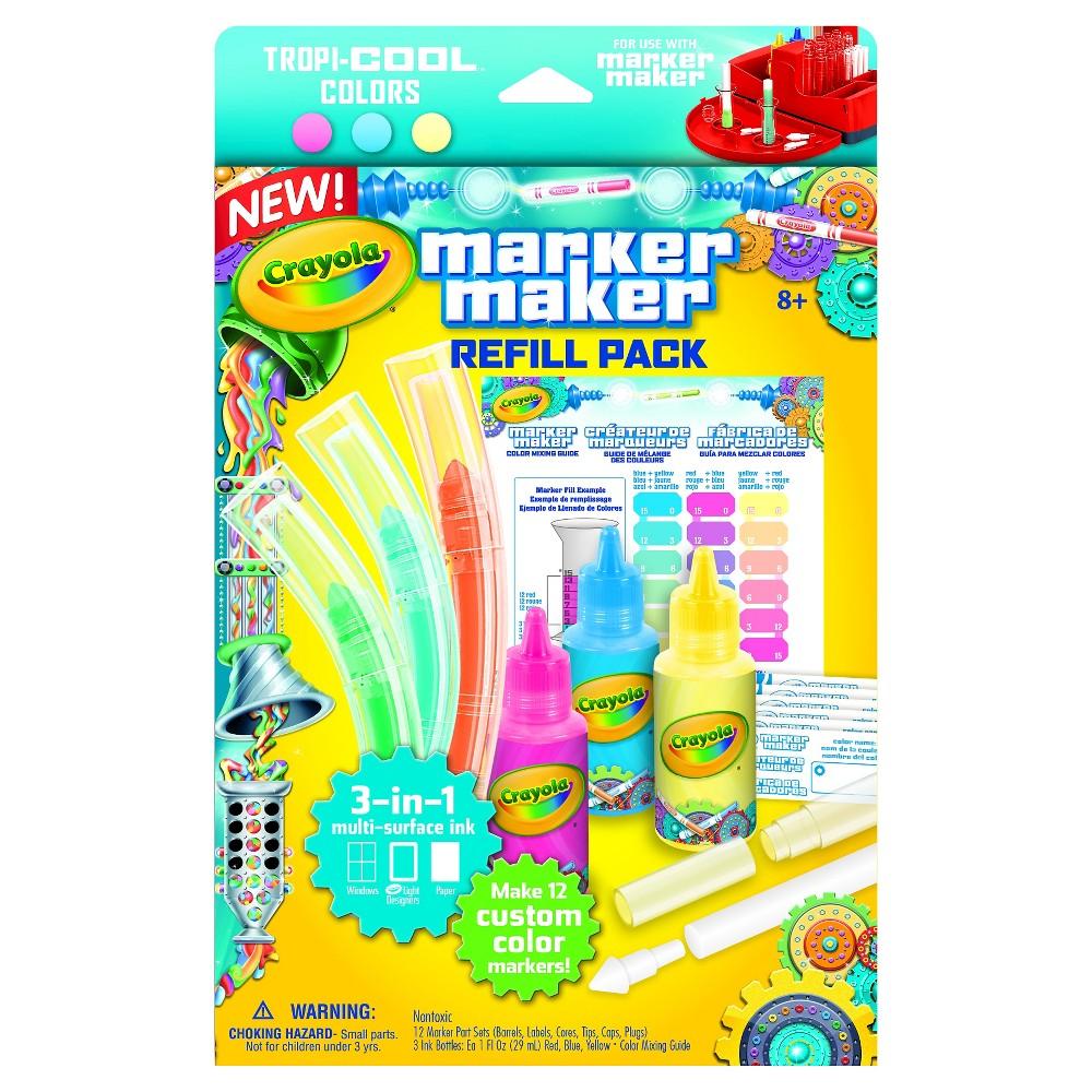 Crayola Marker Maker Refill - Pastel, Multi-Colored