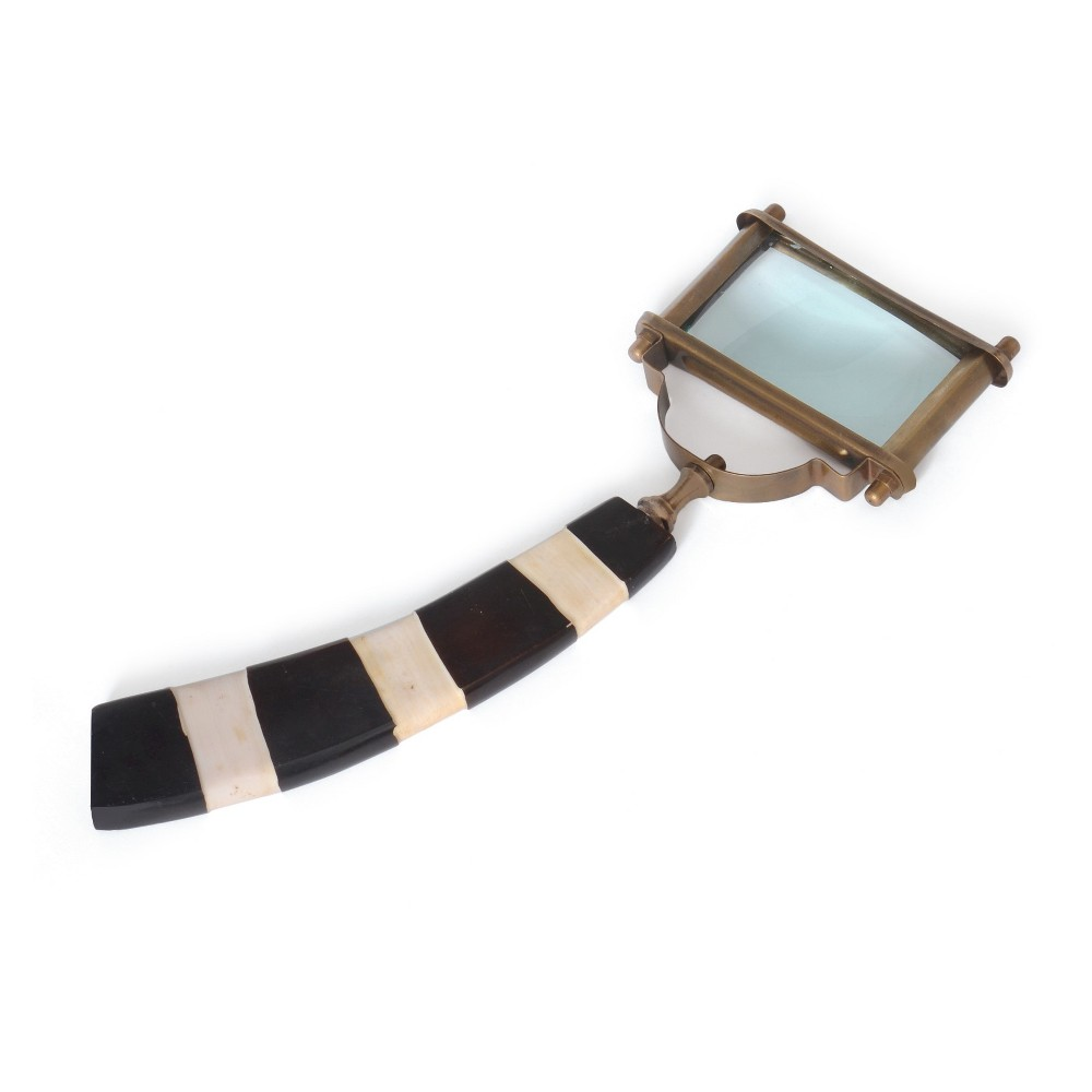 Image of Brass/Horn Magnifier - Go Home