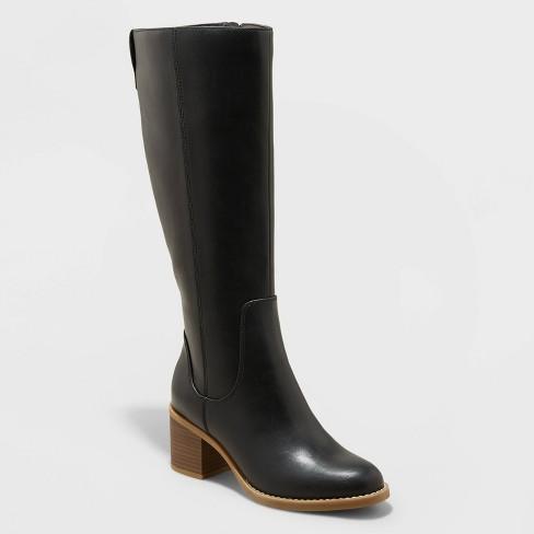 Women's Tatiana Heeled Riding Boots - Universal Thread™ - image 1 of 4