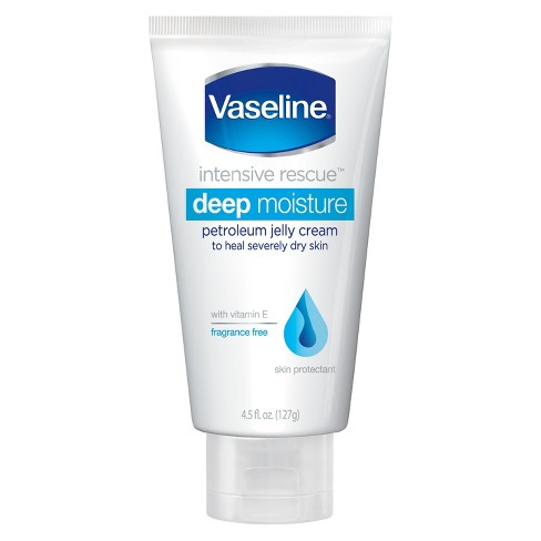 Vaseline Deep Moisture Vitamin E Petroleum Jelly Cream 4.5 oz - image 1 of 2