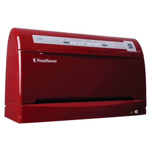 The FoodSaver® V3461 Vacuum Sealing System - Cinnamon Red, FSFSSL3461-035 - image 1 of 2