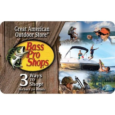 Bass Pro Shops Gift Card (Email Delivery)