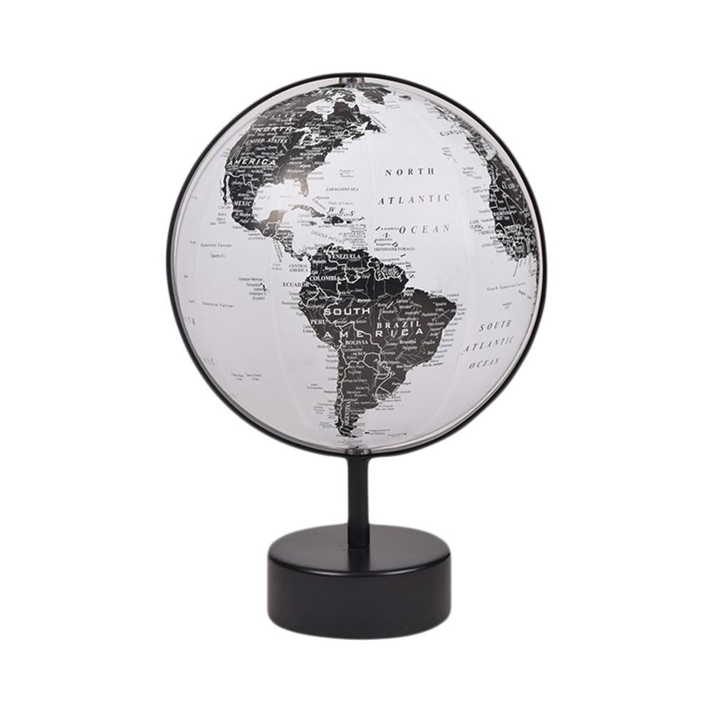 World Globe Black & White - Project 62