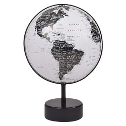 World Globe Black & White - Project 62™