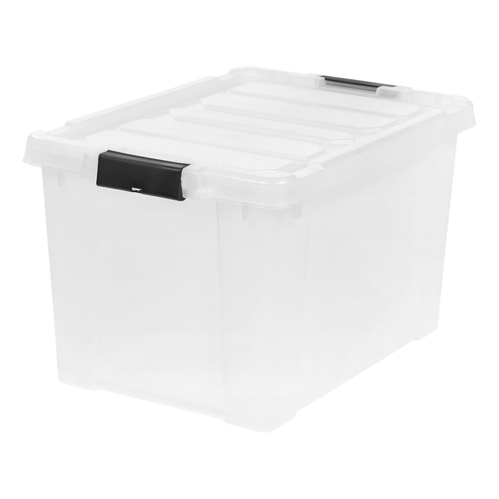 Image of IRIS 18Gal Store It All Tote Clear