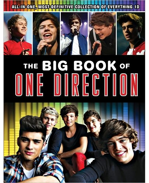 The Big Book of One Direction (Hardcover) by Triumph Books - image 1 of 1