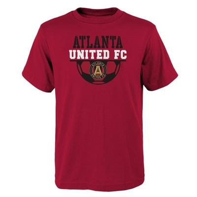 MLS Atlanta United FC Boys' Short Sleeve Core T-Shirt