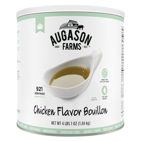 Augason Farms Gluten Free Chicken Flavor Bouillon Emergency Food - 65oz - image 1 of 6