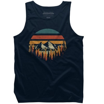 Deeply Wild Mens Graphic Tank Top - Design By Humans