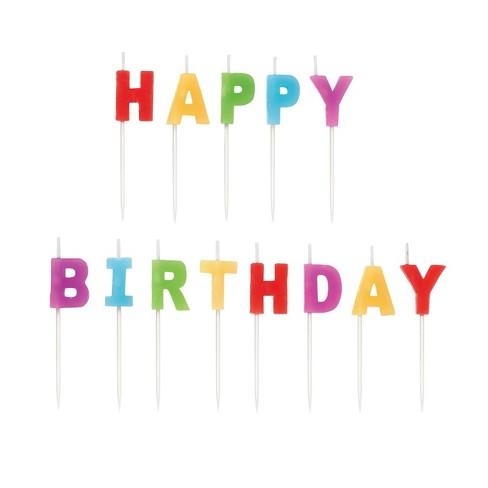 Wilton Happy Birthday Set - 13ct - image 1 of 3