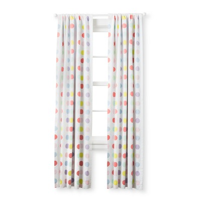 Light Blocking Curtain Panel Bright Dots (63 )- Cloud Island™ Multicolored