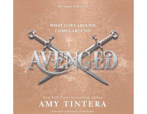 Avenged : Library Edition (Unabridged) (CD/Spoken Word) (Amy Tintera) - image 1 of 1