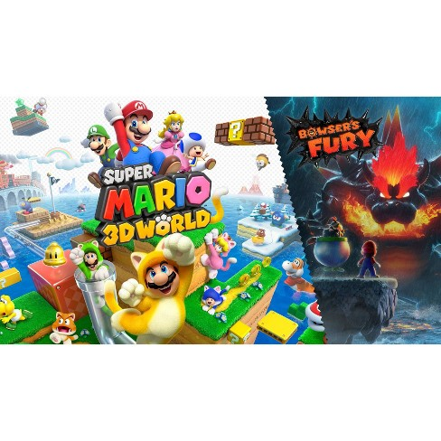 Super Mario 3D World + Bowser's Fury - Nintendo Switch - image 1 of 4