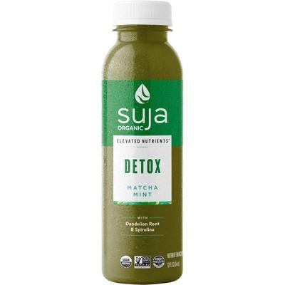 Suja Organic Elevated Nutrients Detox Matcha Mint - 12 fl oz