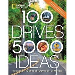 100 Drives, 5,000 Ideas - by  Joe Yogerst (Paperback)