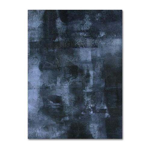 Summer Tali Hilty Abstract 4 Blue Unframed Wall Canvas- Trademark Fine Art - image 1 of 2