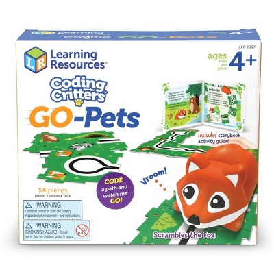 Learning Resources Coding Critters Go-Pets - Scrambles the Fox