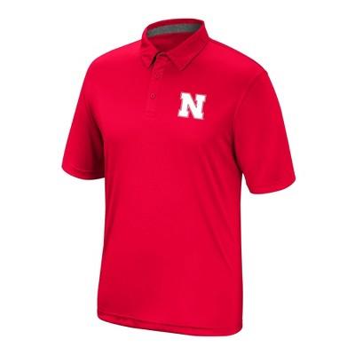 NCAA Nebraska Cornhuskers Men's Polo Shirt
