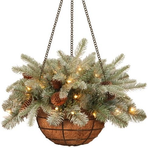 about this item - Christmas Hanging Baskets