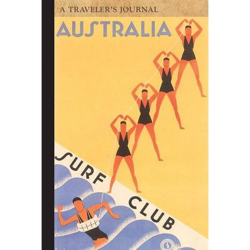 Australia Surf Club: A Traveler's Journal - (Travel Journal) by  Applewood Books (Paperback) - image 1 of 1