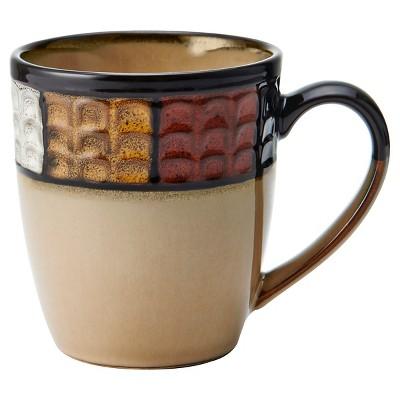 Pfaltzgraff Expressions Emilia Stoneware 11oz 4pk Mugs