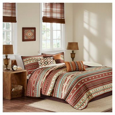 Duncan Printed Quilt Set 6pc