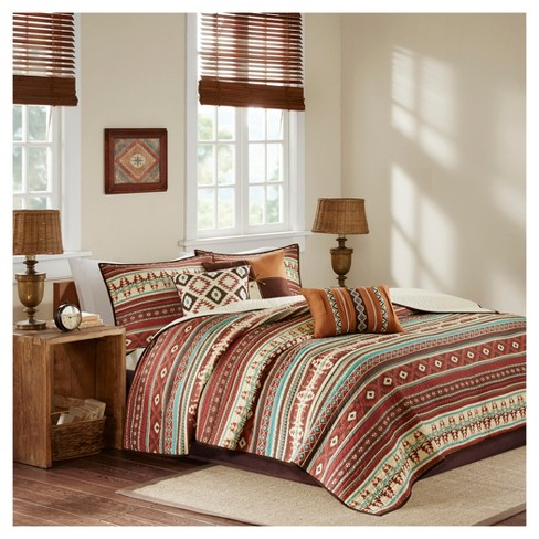 Duncan Printed Quilt Set 6pc - image 1 of 4