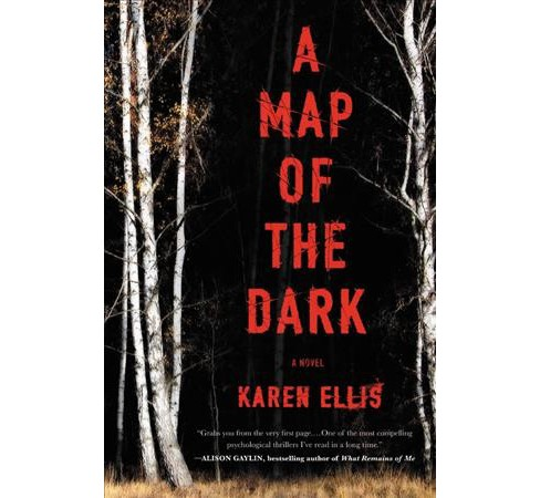Map of the Dark -  Reprint (Searchers) by Karen Ellis (Paperback) - image 1 of 1