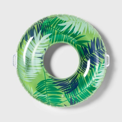 Swim Tube with Handles Palm - Sun Squad™