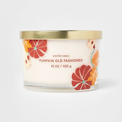 15oz Sentiment Pumpkin Old Fashioned Candle - Opalhouse™