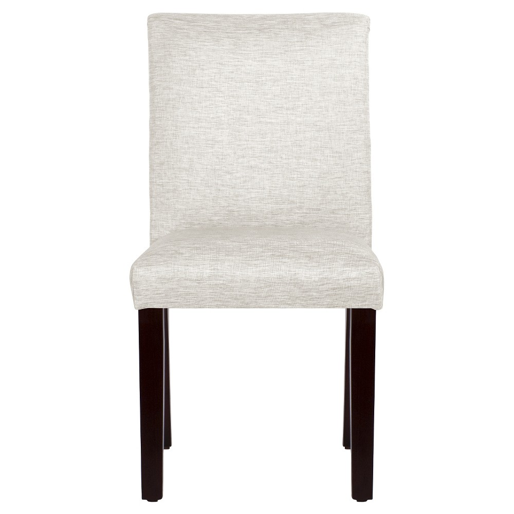 Textured Parsons Dining Chair Groupie Oyster - Threshold, White