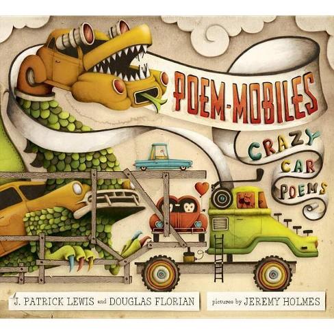 Poem-Mobiles - by  J Patrick Lewis & Douglas Florian (Hardcover) - image 1 of 1