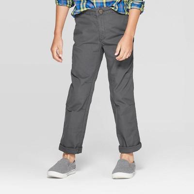 Boys' Fashion Pants - Cat & Jack™ Charcoal 7
