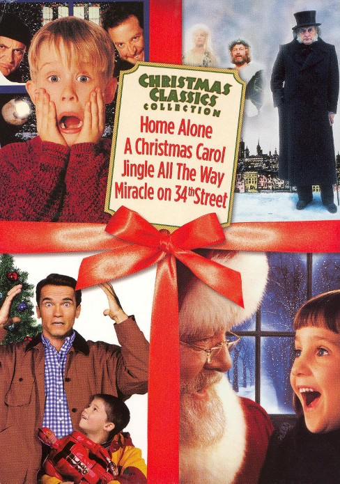 Christmas Classics Box Set: Home Alone/A Christmas Carol/Jingle All the Way/Miracle on 34th Street - image 1 of 1