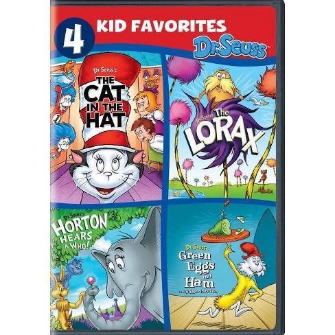 4 Kid Favorites: Dr. Seuss (DVD)(2019) - image 1 of 1