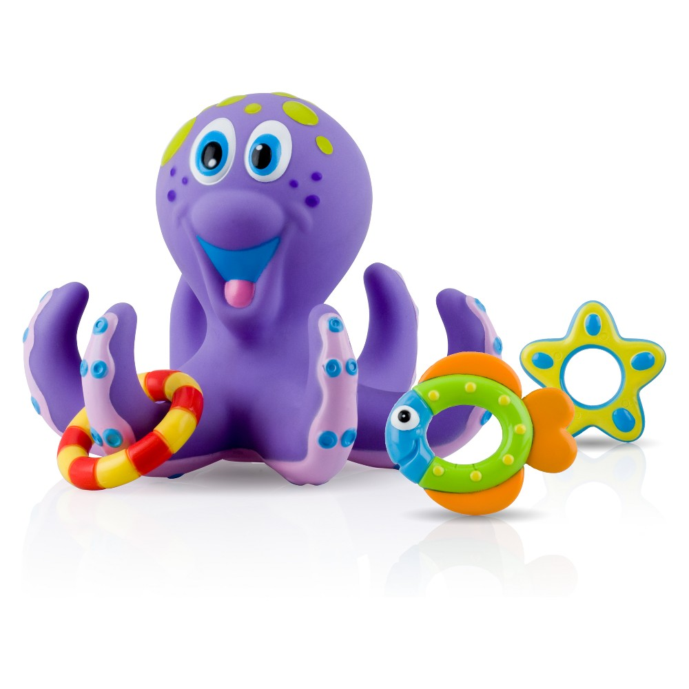 Nuby Octopus Hoopla Bathtime Toy