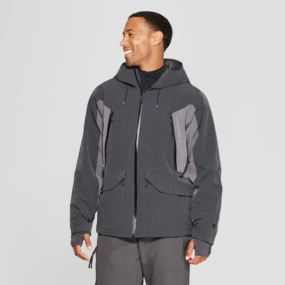 Men's Ski Puffer Jacket - C9 Champion Black XL