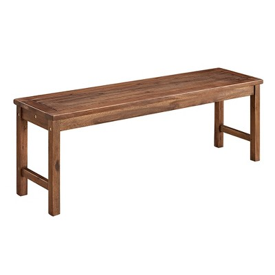 Acacia Wood Patio Bench - Saracina Home