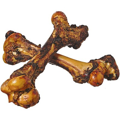 Pawstruck Mammoth Dog Bones - Large Beef Healthy Dog Dental Treats & Natural Chews, Monster, Made in USA, American Made - Mammoth Bone