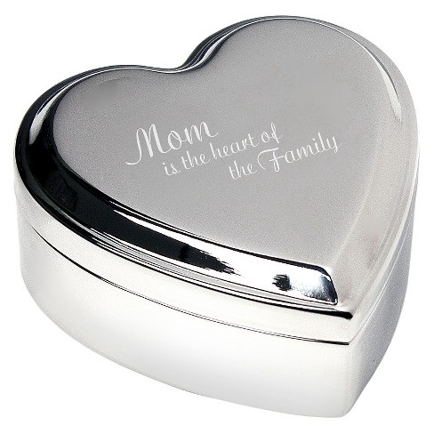 Mother's Day 'Mom is the Heart' Keepsake Box - image 1 of 1