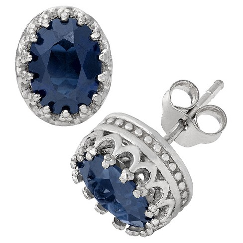 Fine Jewelry Earring Sapphire - image 1 of 1