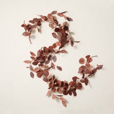 6' Faux Rusted Eucalyptus Plant Garland - Hearth & Hand™ with Magnolia