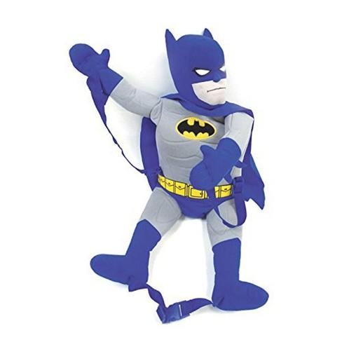 comic images dc comics batman plush backpack target