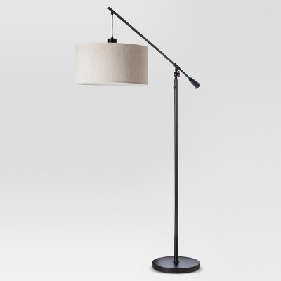 Cantilever Drop Pendant Floor Lamp Antique Bronze Lamp Only - Threshold™