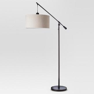 Cantilever Drop Pendant Floor Lamp Antique Bronze (Lamp Only) - Threshold™