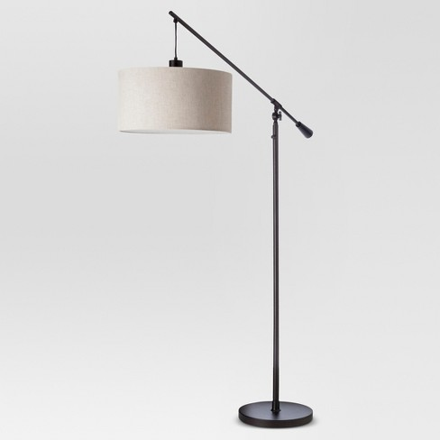 Cantilever Drop Pendant Floor Lamp Antique Brown - Threshold™ - image 1 of 4