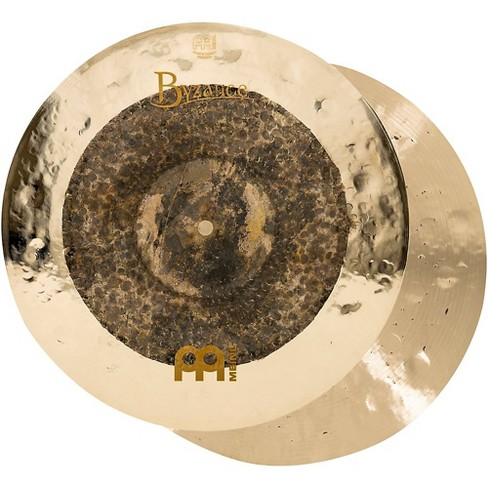 Meinl Byzance Extra Dry Dual Hi-Hat Cymbal Pair 15 in. - image 1 of 4