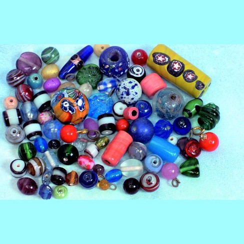 Stanislaus Glass Indian Bead Assortment, 1/2 Pound - image 1 of 1