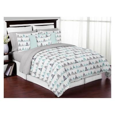 Full/Queen 3pc Mountains Comforter Set - Sweet Jojo Designs